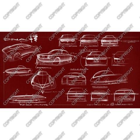 Alfa Romeo tonale concept inspiration