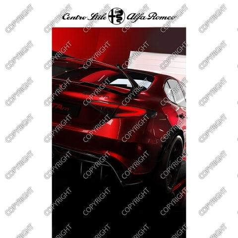 ALFA ROMEO GTAm concept - vista posteriore