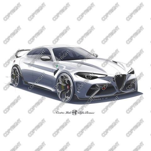 ALFA ROMEO GTAm concept - vista anteriore
