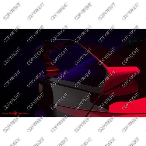 Ala posteriore GTAm concept