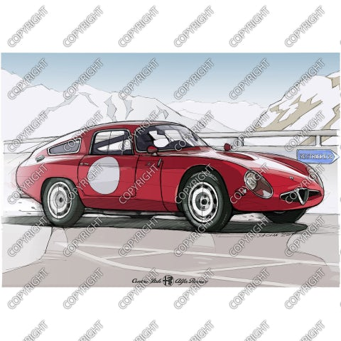 Alfa Romeo TZ1, 1965