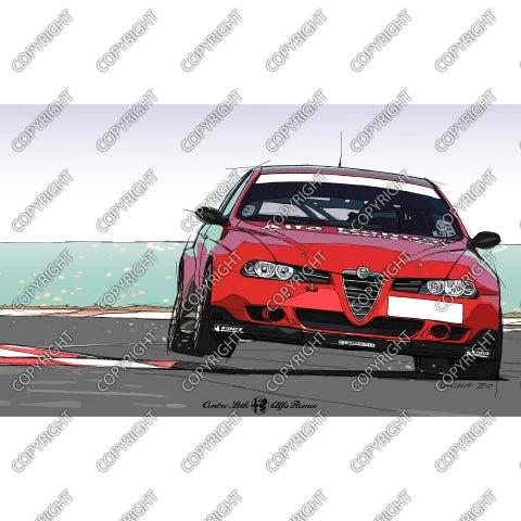 Alfa 156 Super 2000 WTCC – vista frontale