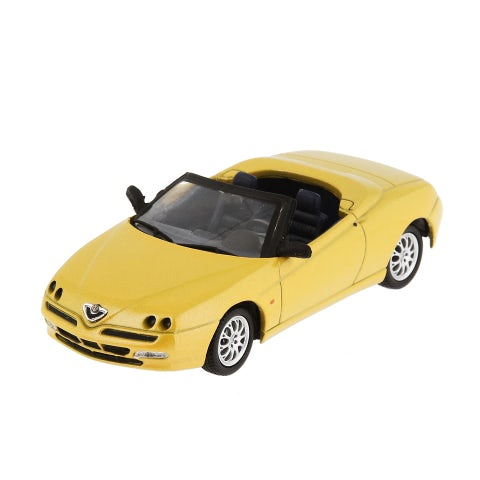 CAR MODEL ALFA SPIDER, ZOE YELLOW (1:43 SCALE)