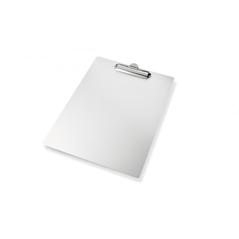 NOTE PAD HOLDER IN ALUMINUM
