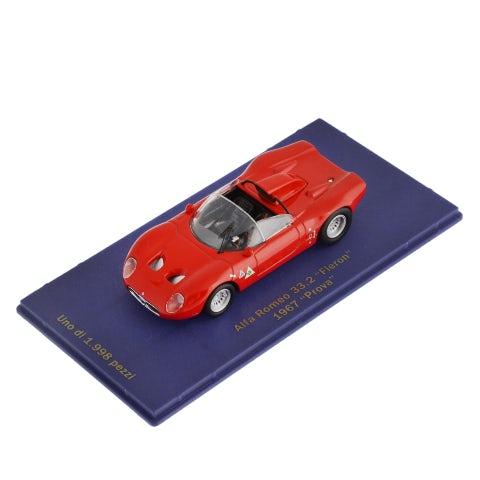 CAR MODEL 33.2 FLERON 1967 RED (1:43 SCALE)