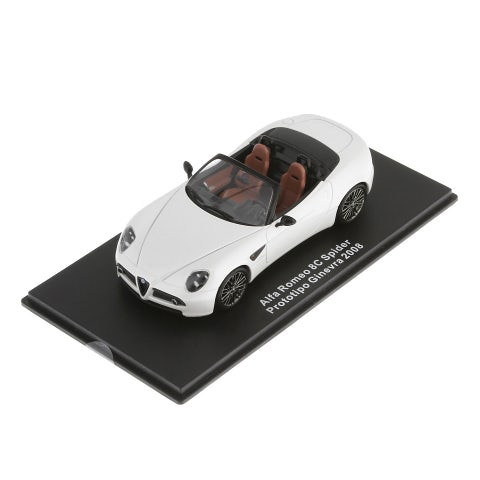 CAR MODEL ALFA 8C SPIDER LOUNGE (1:43 SCALE)
