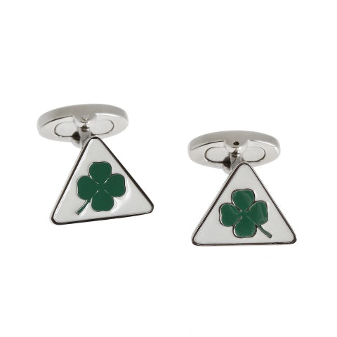 CUFFLINKS IN ZAMAK WITH BUTTERFLY SHAPE