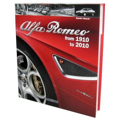 LIBRO ALFA ROMEO 1910-2010 ( TESTO INGLESE )