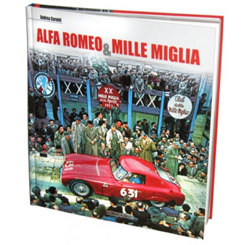 BOOK ALFA ROMEO & MILLE MIGLIA (ITALIAN/ENGLISH TEXT )