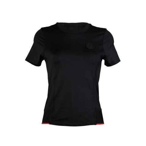 S-SLEEVED WOMEN'S T-SHIRT A.R. BLACK TECHNICAL FABRIC