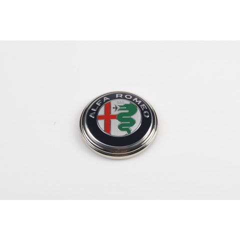 ALFA ROMEO PAPERWEIGHT IN ZINC AND COLORED ALUMINIUM