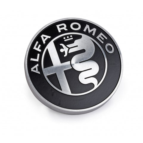 BLACK ALUMINIUM PAPERWEIGHT WITH NEW A.R. LOGO