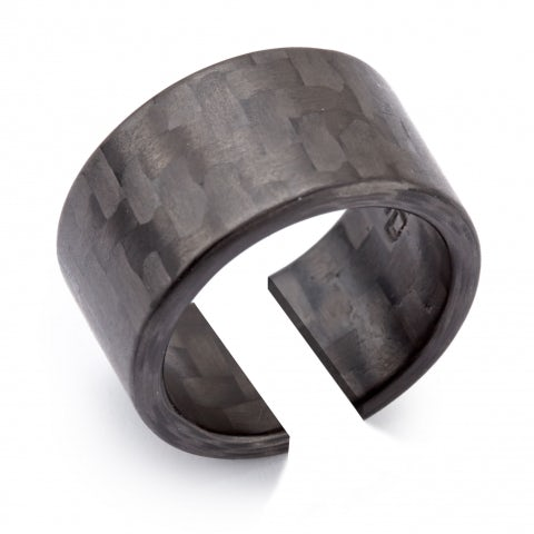 CARBON FIBRE RING WITH NEW A.R. LOGO