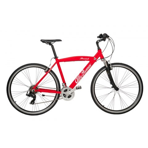 ROAD TOURING BICYCLE A.R. IN RED ALUMINIUM