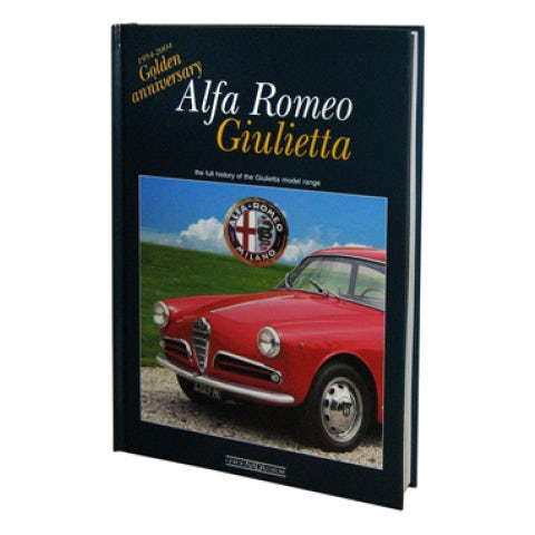 BOOK ALFA GIULIETTA GOLDEN ANNIVERSARY( ENGLISH TEXT )
