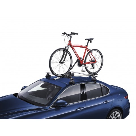 Top aluminum bike carrier