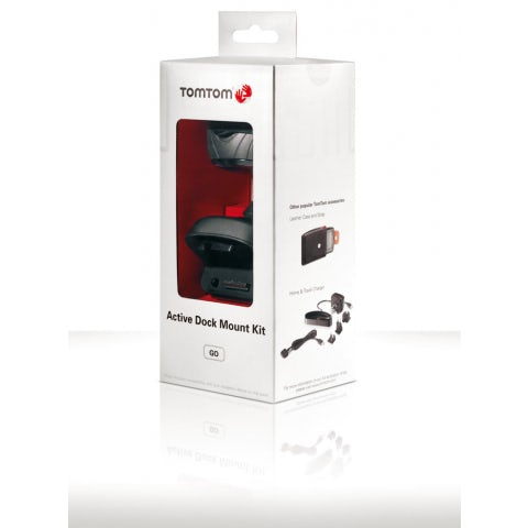 Suction pad and power cable kit for BLUE&ME TOMTOM