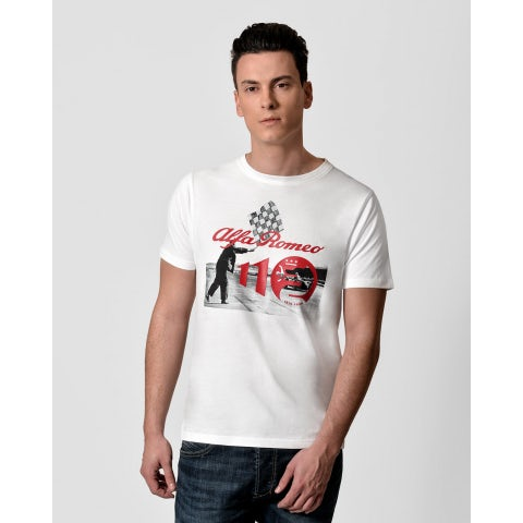 T-SHIRT ANNIVERSARY RACE BIANCO SPECIAL EDITION S