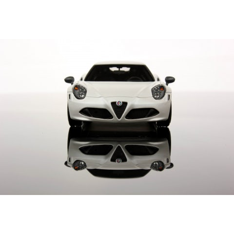 MINIAT MODEL MATTE WHITE ALFA 4C (1: 43 SCALE)