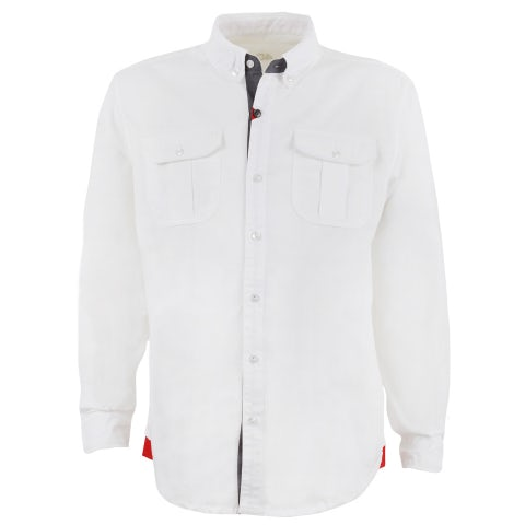WHITE CLASSIC/SPORTS 4C MAN'S SHIRT