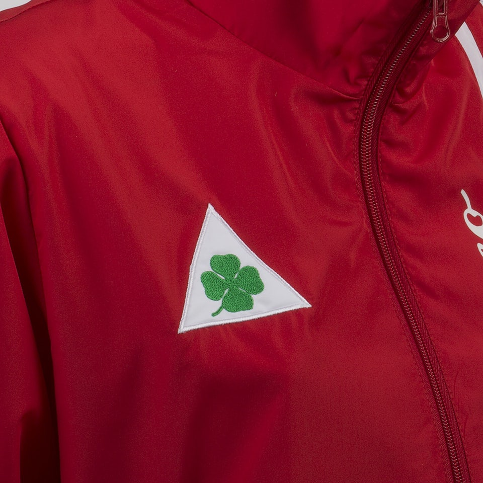 A R Quadrifoglio Verde Red Unisex Light Jacket Man Clothing