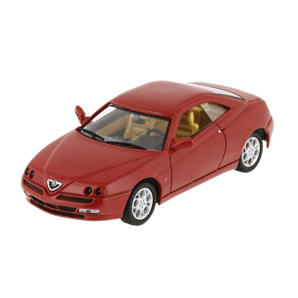 car model alfa gtv alfa red 1 43 scale merchandising. Black Bedroom Furniture Sets. Home Design Ideas