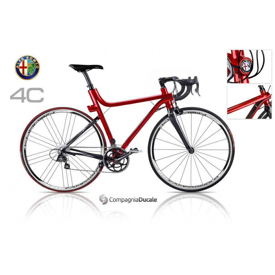 Bicicletta 4c Veloce Rosso Merchandising