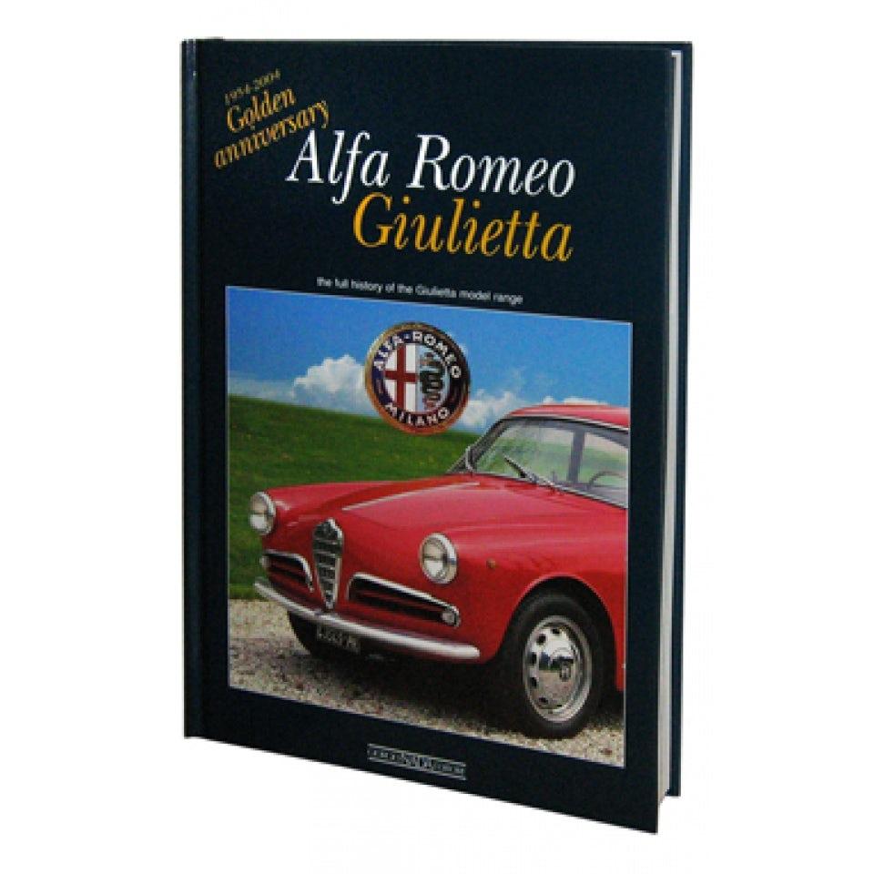 libro alfa giulietta golden anniversary testo inglese oggettistica merchandising. Black Bedroom Furniture Sets. Home Design Ideas
