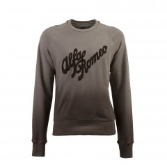 UNISEX GREY HERITAGE A.R. BRUSHED COTTON SWEATSHIRT