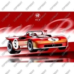 Alfa Romeo 33/3 - vista frontale