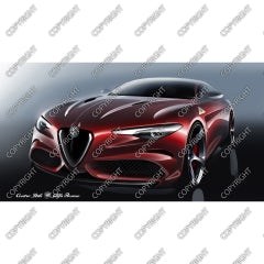 Emotional sketch Alfa Romeo Giulia