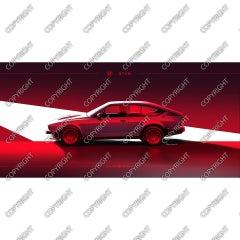 Alfa Romeo GTV 6 - 1984 (vista laterale)