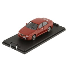 MODELLINO IN MINIAT. ALFA 156 GTA BERLINA (SCALA 1:43)
