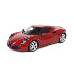 Car model 4C collection miniature, red resin 1:18