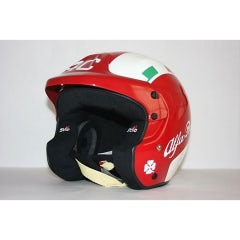 ALFA ROMEO 4C RED HELMET HANS CONNECTIONS