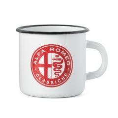 Enamel Mug Alfa Romeo Heritage