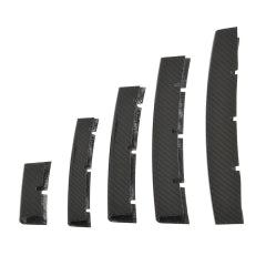Radiator grill bars in cabon fiber
