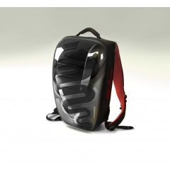 SMALL KNAPSACK RIGID MONOCOQUE IN BLACK POLYCARBONATE