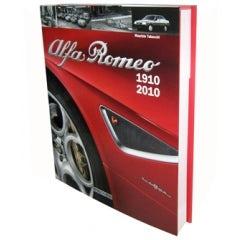 BOOK ALFA ROMEO 1910-2010 ( ITALIAN EDITION )