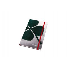 A.R. QUADRIFOGLIO VERDE GREY NOTEBOOK
