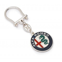 KEYRING IN ALUMINIUM WITH NEW COLOURED A.R. LOGO