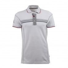 4C MEN'S WHITE S-SLEEVED POLO SHIRT