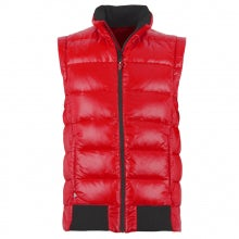 QUILTED GILET UNISEX RED