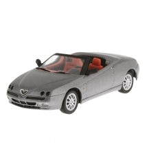 CAR MODEL ALFA SPIDER, ECLISSE GRAY (1:43 SCALE)