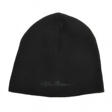 BONNET IN BLACK WOOL