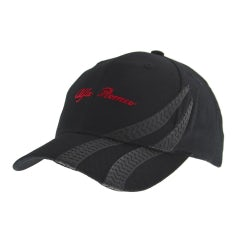 BLACK HAT WITH VISOR