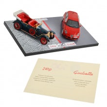 GIULIETTA AND 24 HP CENTENARY CASE 1:43