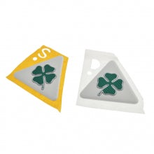 GREEN CLOVERLEAF BADGES