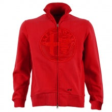 ALFA ROMEO RED UNISEX SWEATER